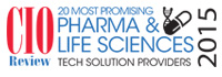Top 20 Pharma And  Life Sciences Tech Solution Companies - 2015