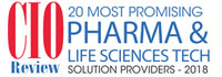 20 Most Promising Pharma And Life Sciences Tech Solution Providers - 2018